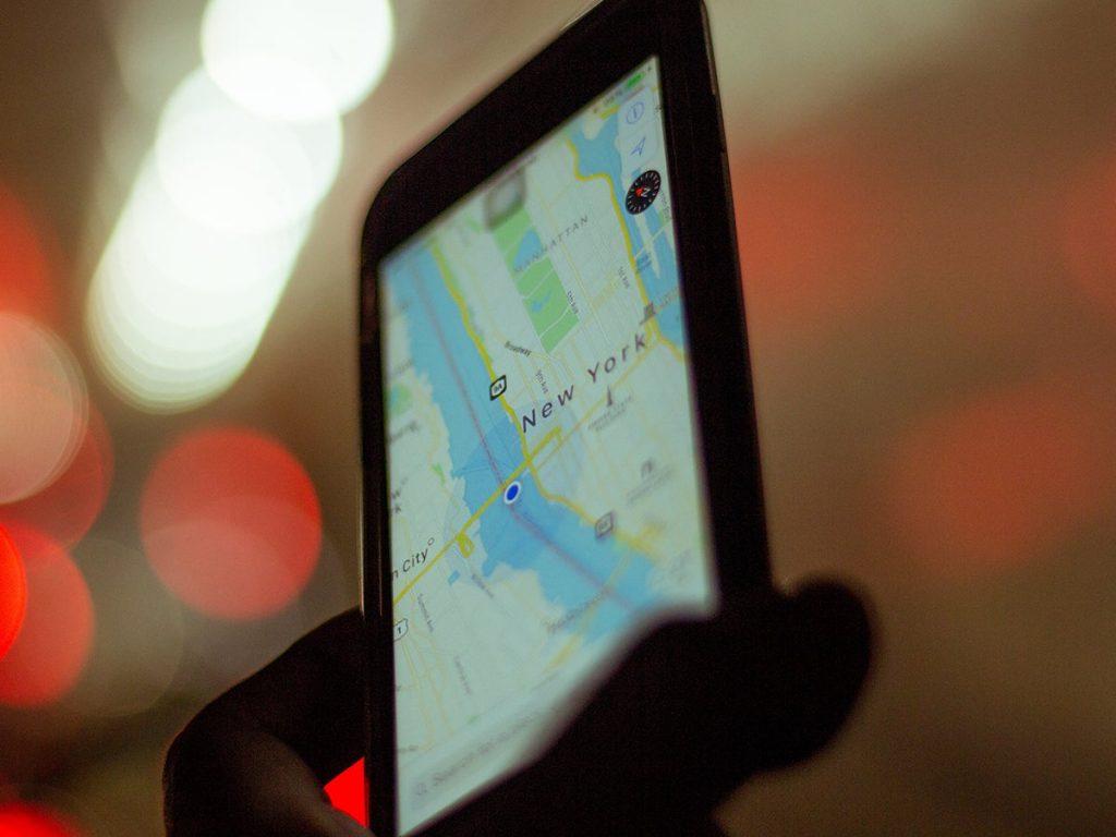 Google Maps to Public Transit